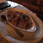 Schnitzle yum and beef stroganoff