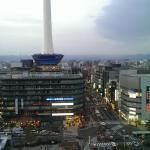 vista desde la habitación del 9° piso