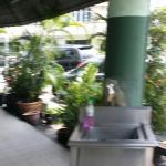 Internal and external view of Restoran M.Salim, lpoh