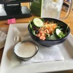 Half side salad