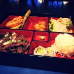 Lunch bento box for $10. Can't beat it.