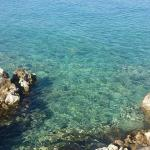 Beautiful clear sea