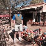 Shopping in Tubac, about 40 min south of Lazy Days KOA.