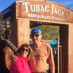 Fun place for dinner and drinks after a day of shopping at Tubac.