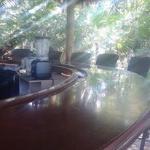Lulu's bar seating