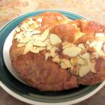 Almond Croissant, Cafe Espresso, Peppermill, Reno, Nevada