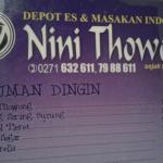 Nini Thowong Restaurant Foto