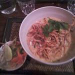KAO SOY Nouilles classiques et nouilles croustillantes au curry de poulet