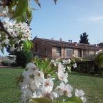 Garden and view of the villa 'Il Fienile'