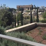 El Hotel King David desde la ciudad antigua de Jerusalén