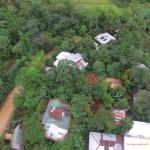 Aerial view of the complex