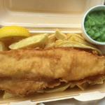 Fish and Chips and Mushy Peas take out