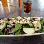 Organic Blu Salad