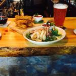 Calamari, Fried Zucchini $4 HH beer and $5 HH wine