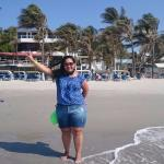 Hotel bem em frente ao mar. Playa de el Yaque.