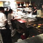 The kitchen at Chelsea's Kitchen