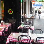 This looks very much like an old NYC Italian style patio.