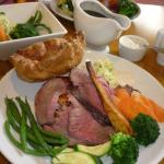 Delicious Roast beef and vegetables