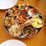 the best thali I had in india.