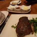 NY Strip and Baked Potato