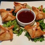 "Their version of ""crab rangoon"" was just as described - light, airy, and very tasteful."