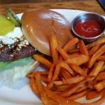 BBQ Blue Cheese Burger, nothing extraordinary.