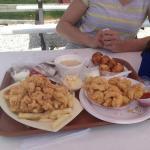 Fried Seafood Rafts