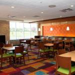 Complimentary breakfast for escape package visitors at the Fairfield Inn Marriott