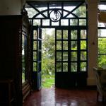 Hallway to back gardens