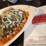 Samosa Chaat - Appetizer at Saaz
