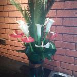 Flaming flowera