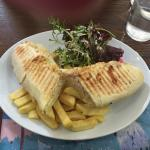 Wonderful small lunch establishment near The Rock of Cashel. My wife and I both had panini 's an