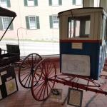 Mail Buggy used on First Rural Delivery Route in USA