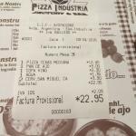 Foto de pizza industria