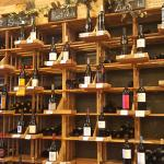 Large selection of fine wines