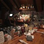 I like the bar. You can get the full menu!