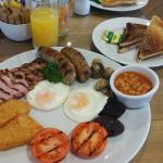 Full lakes breakfast