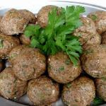 Paleo Meatball.....we have lots of gluten free options