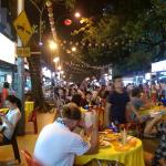 Hotel is very nearby to Popular Food Street.