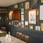 The Wall of Hares - some work from local artists on here!