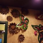 Restaurant Metal Wall Art ... Butterfly Display