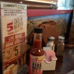 Sample of Available Condiments on Restaurant Dining Table
