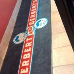 Entrance floor mat @ Erb & Gerb's Cloquet