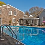 Enjoy the refreshing waters of the Platinum Pebble Boutique Inn's pool.