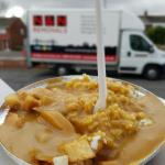 I absolutely love the half boiled chips and curry sauce! I also love just the chips in a paper c