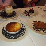 Les desserts, Fiadone, Gâteau au chocolat, Tarte au citron revisité...