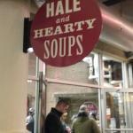 Entrada en de Hale and Hearty Soups en Chelsea Market