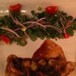 Camerones (shrimp) and pea pods