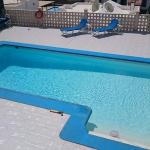 Beautiful pool area of Villa no.3.