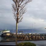 Ferry into Port Townsend